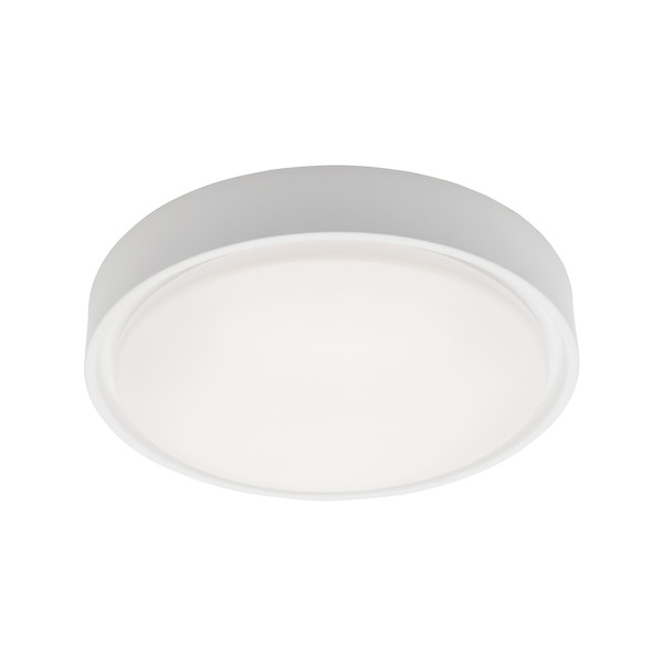 Sorel is a Clean Crisp Dome Shaped LED Oyster with White Finish and Opal Acrylic Lens. Suitable for Both Indoors in Wet Areas like Bathrooms as well as Outdoors in Covered Areas. Includes 16W Dimmable SMD LED Panel with High Light Output.
