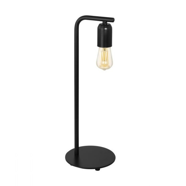 This table luminaire of the ADRI 3 series is made of black powder-coated steel, and pairs perfectly with a vintage LED globe from our accessories range.