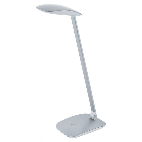 CAJERO LED Touch Desk Lamp Silver