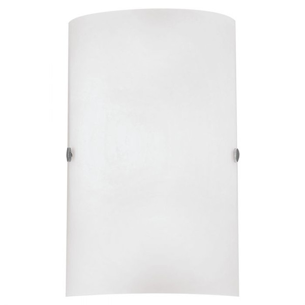 This wall luminaire from the series TROY3 has a simple opal matte glass for a subtle addition to your home.