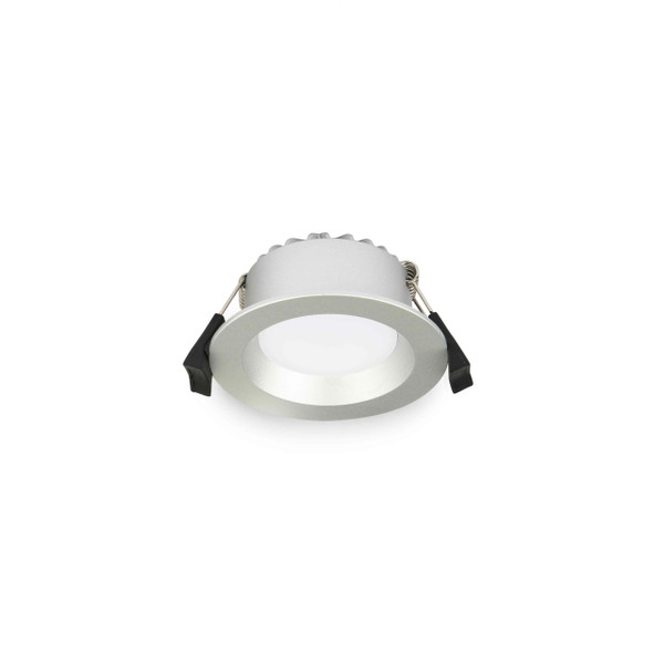 9W LED Downlight with Dimmable LED Driver Silver