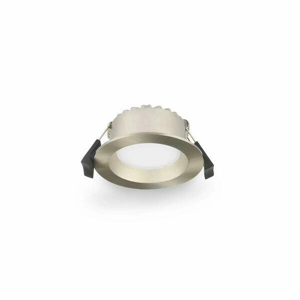 9W LED Downlight with Dimmable LED Driver Satin Chrome