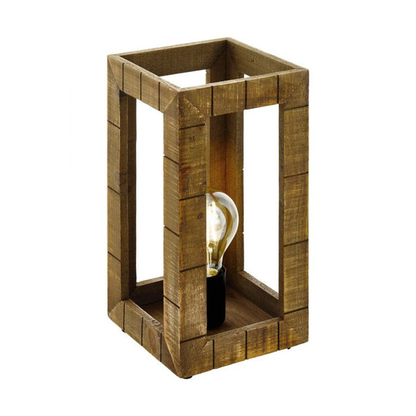 The TAKHIRA range features a rustic timber frame and pairs well with LED filament globes.