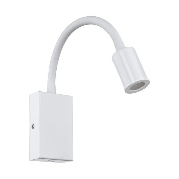 The TAZZOLI wall light has a flexible stem for easy adjustment making it perfect for reading. It also features a USB charging port.