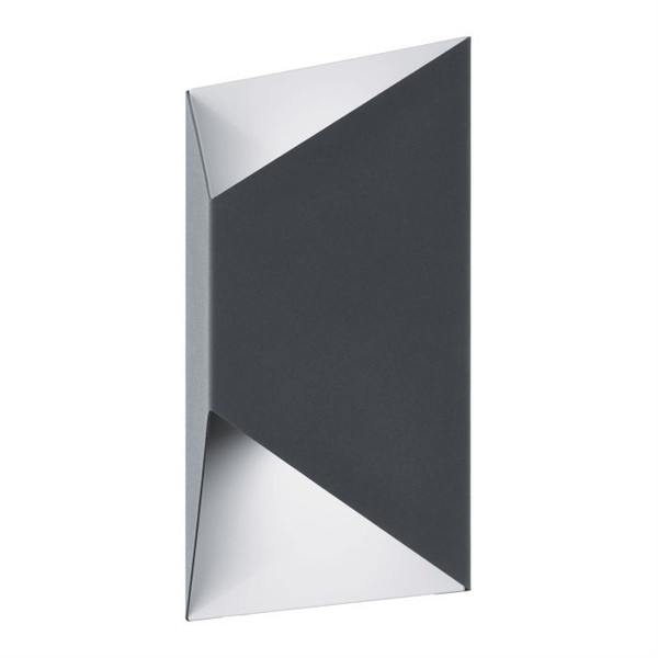 The PREDAZZO exterior wall light creates a visual lighting effect, and will add a striking feature to your outdoor living spaces