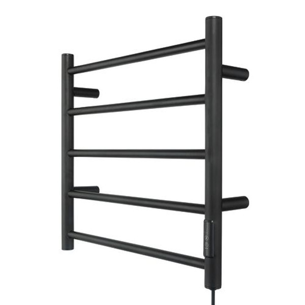 Our heated towel rail is all about comfort, whilst creating a modern and contemporary looking bathroom. They provide practical function and compact design offering space in even the most compact of rooms. 2 or 4 Hour Timer. 5 Bar Towel Rail . All fixing accessories included. Easily installed into new or existing homes.