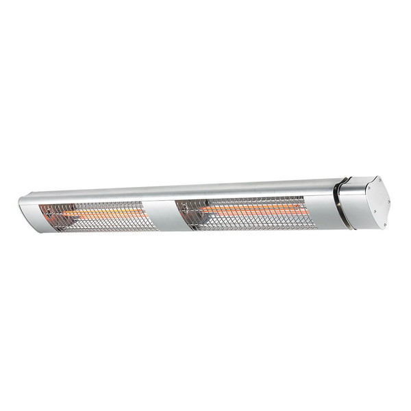 3000w Infrared Strip Heater, ideal for covered outdoor areas. IP65 Wall Mountable Only. Creates a warm ambient atmosphere.