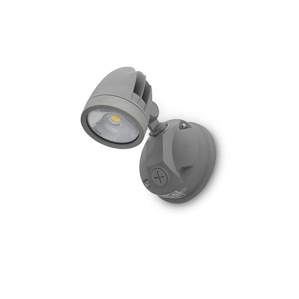 11W IP44 LED Single Spotlight Silver