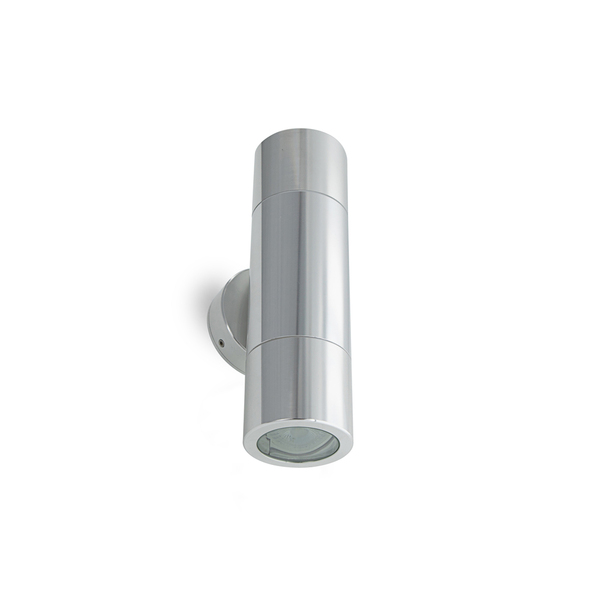 12V LED Up/Down Light 2x6W Stainless