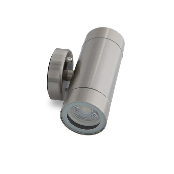 304 Stainless steel up/down Exterior Wall light with Glass Diffuser