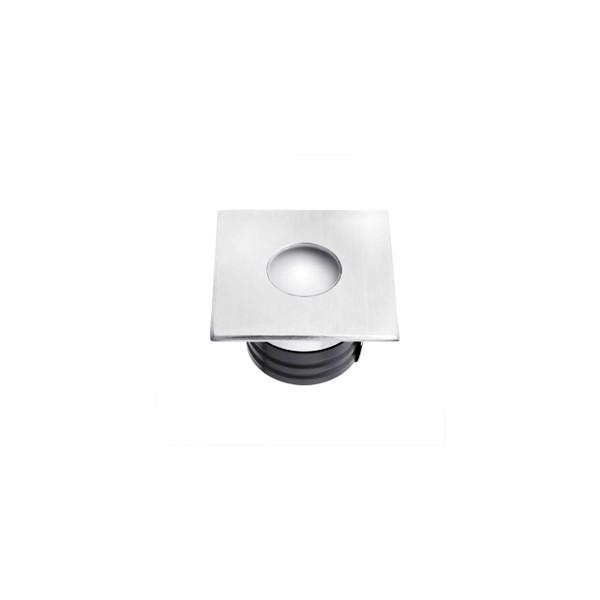 2W LED IP67 12Vdc Square Face Inground Uplighter
