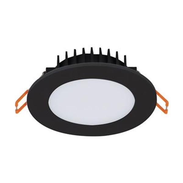 BLISS 10W RND LED D/L BLK