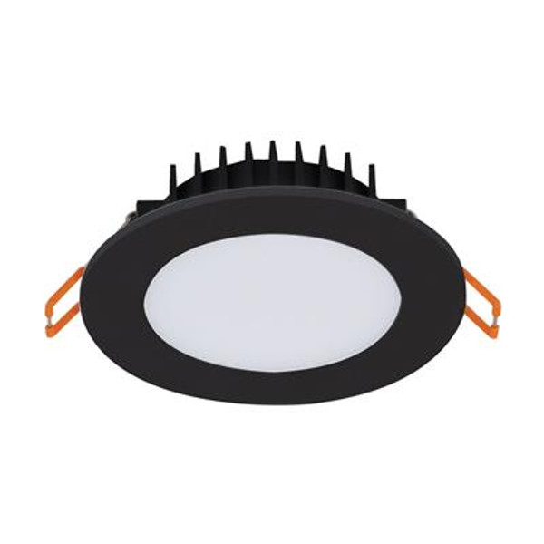 BLISS-10 Round 10W Dimmable LED Colour Switchable Downlight - Black