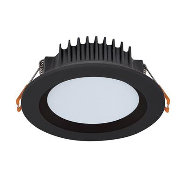 BOOST-10 Round 10W Dimmable Colour Switchable LED Downlight - Black