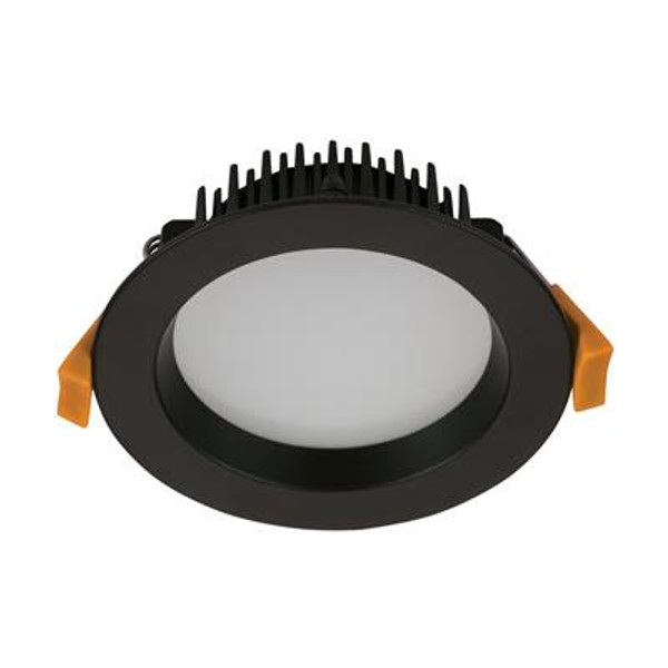 DECO-13 Round 13W Dimmable LED Downlight - Black Frame