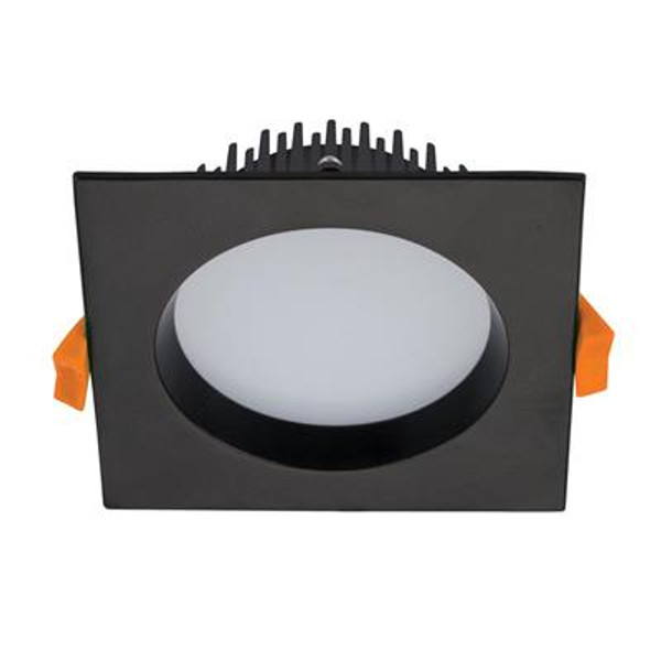 DECO-13 Square 13W Dimmable LED Downlight - Black Frame