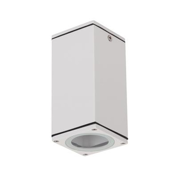 ALPHA-SM LED GU10 Surface Mounted Downlight - Textured White