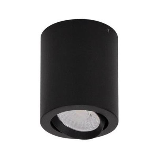 NEO-10 Surface Mounted Tiltable LED Downlight - Textured Black