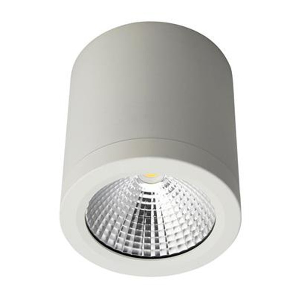 NEO-13 Surface Mounted LED Downlight - Satin White