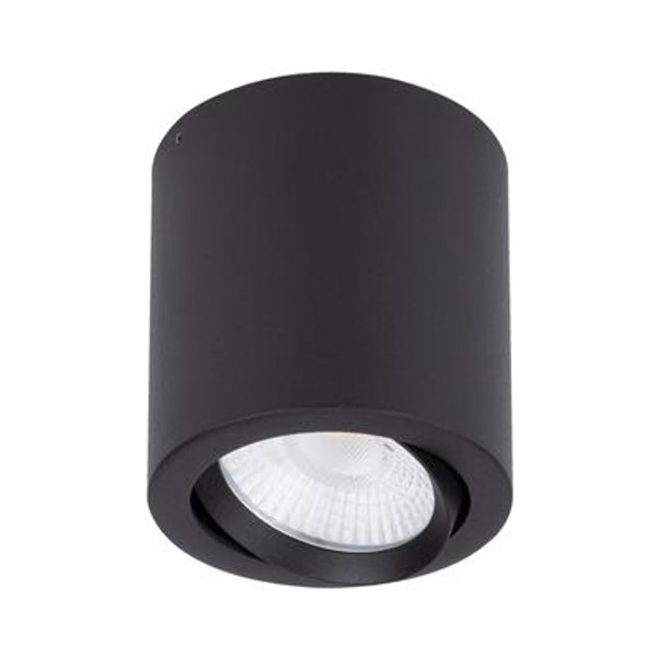 NEO-20 Surface Mounted Tiltable LED Downlight - Textured Black