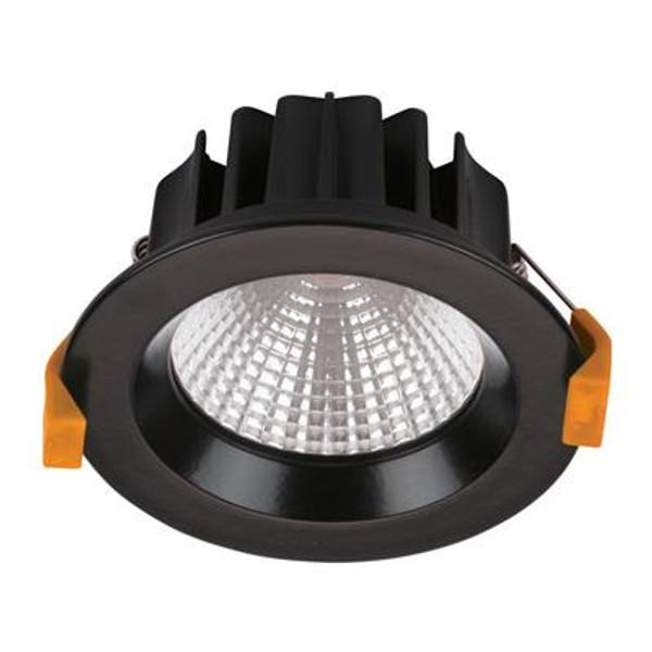 NEO-13 Recessed LED Downlight - Matt Black