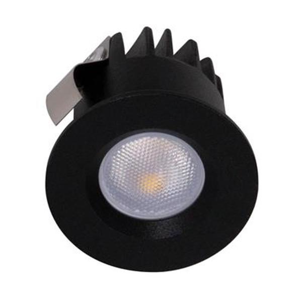 POCKET-3 3W LED Miniature Downlight - Black Frame