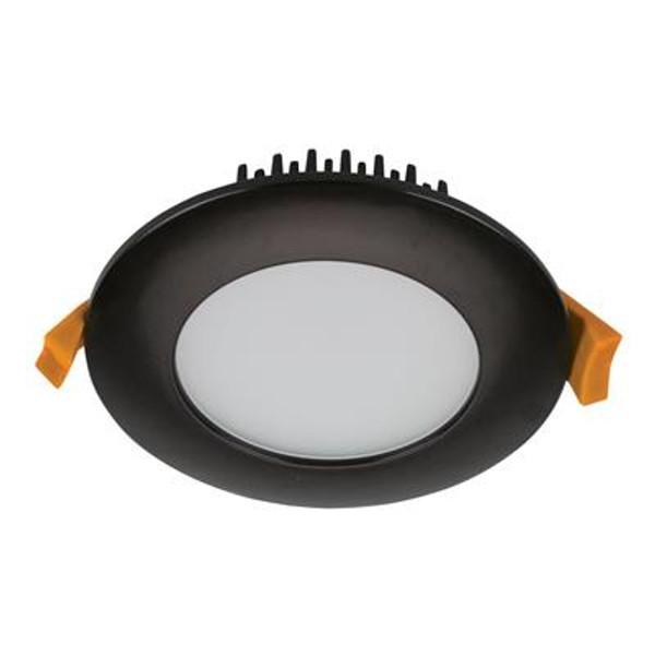 SPLASH-13-RND Round LED Down Light IP54 - Black