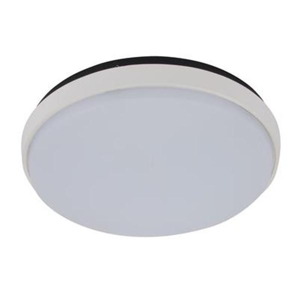 DISC-300 Round 30W Splashproof LED Ceiling Light - White Trim