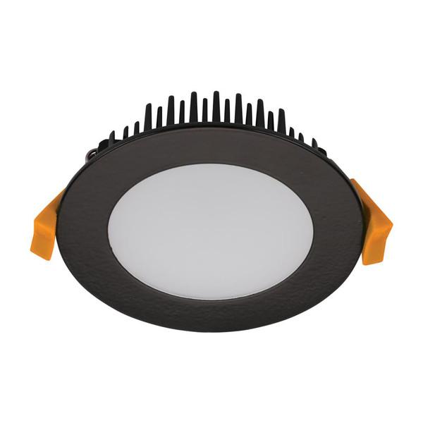 TEK-13 13W Dimmable LED Downlight - Matt Black