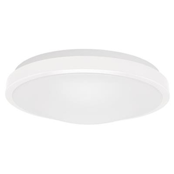 ORA-300 Round 15W Dimmable LED Ceiling Light - White Metal Trim