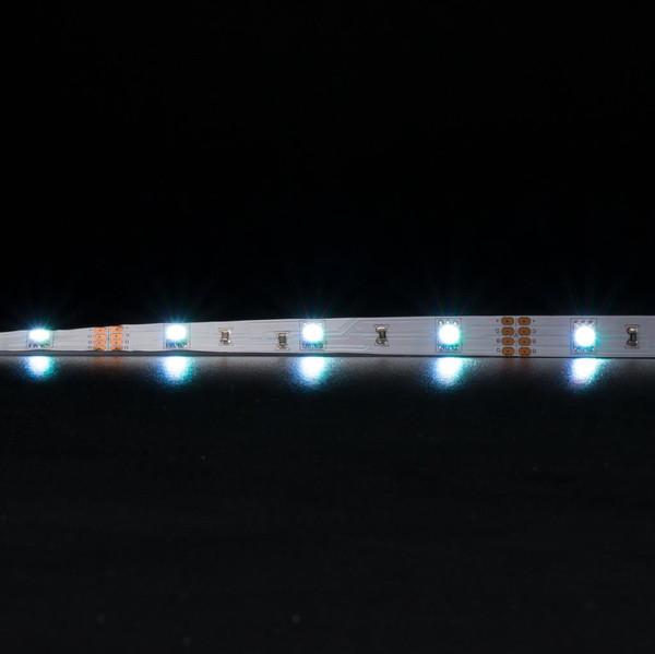 STRIP-30-RGB 30 LED Flexible Strip - 7.2W 12V DC / RGB LED