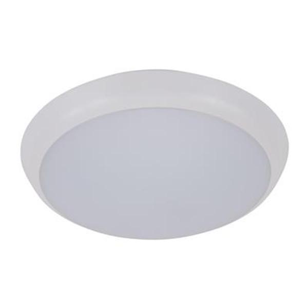 SOLAR-200 Round 15W Slimline LED Ceiling Light - White Frame