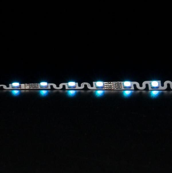 STRIP-48-BEND Flexible 48 LED Bendable Strip - 11.5W 12V / White LED