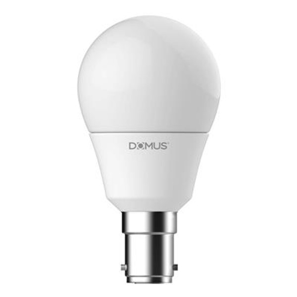 Key Fancy Round Frosted 6W Dimmable LED Globe B15 Base - 2700K or 6500K