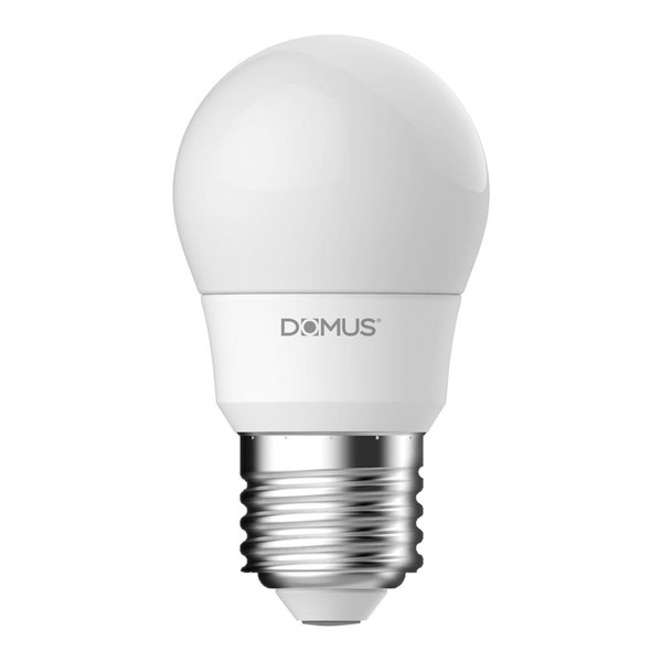 Key Fancy Round Frosted 6W Dimmable LED Globe E27 Base - 2700K or 6500K