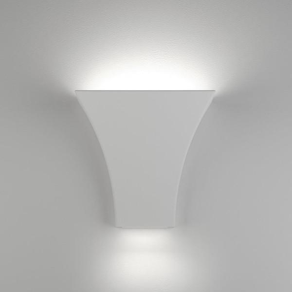 BF-2013 Ceramic Wall Uplight - Raw / G9