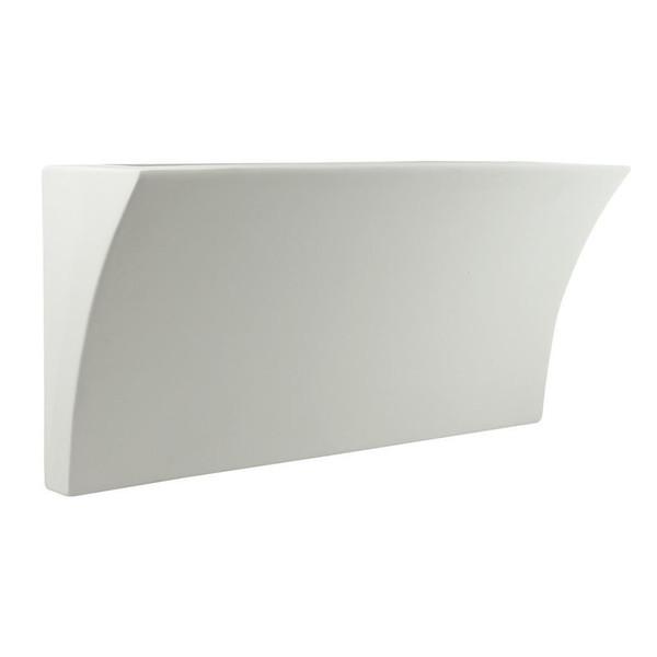 BF-2014 Ceramic Wall Uplight - Raw / G9