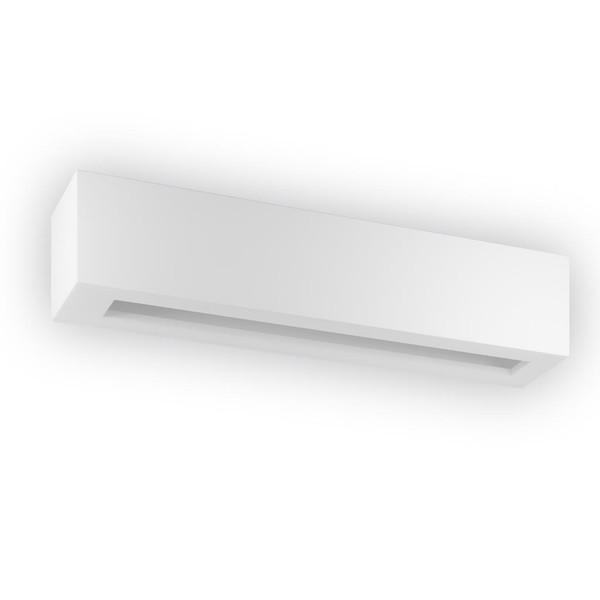 BF-2020 Ceramic 50cm Wall Uplight - Raw / G9