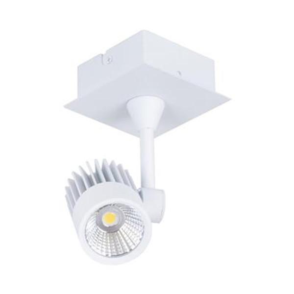 JET-1 1 x 10W LED Spotlight - White