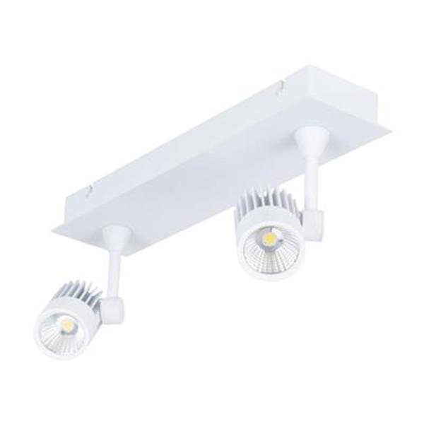 JET-2B 2 x 10W LED Spotlight Bar - White