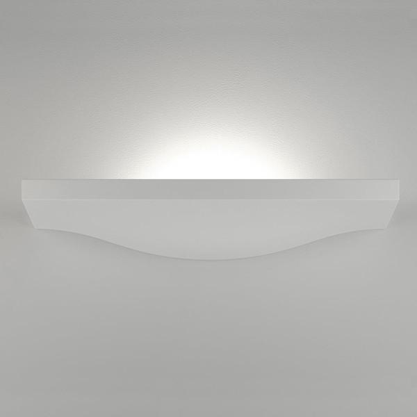 BF-2607A Ceramic Wall Uplight - Raw / G9