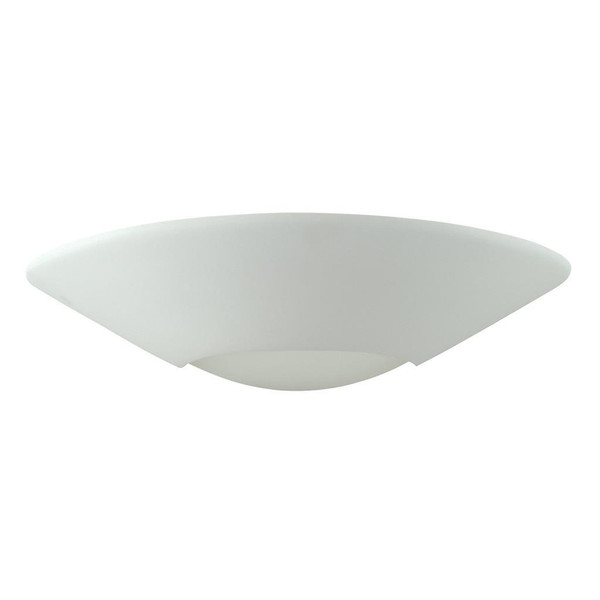 BF-7603 Ceramic Frosted Glass Wall Light - Raw / E27