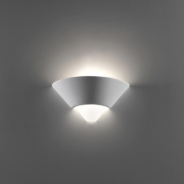 BF-7908 Ceramic Frosted Glass Wall Light - Raw / E27
