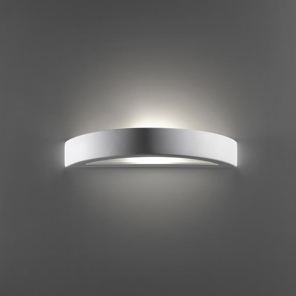 BF-8042 Ceramic Frosted Glass Wall Light - Raw / E27