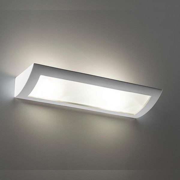 BF-8186 Ceramic Frosted Glass 60cm Wall Light - Raw / E27