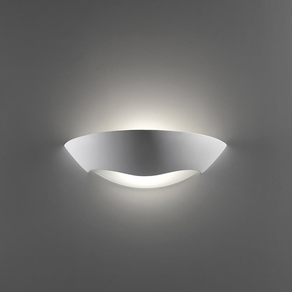 BF-8258 Ceramic Frosted Glass Wall Light - Raw / E27