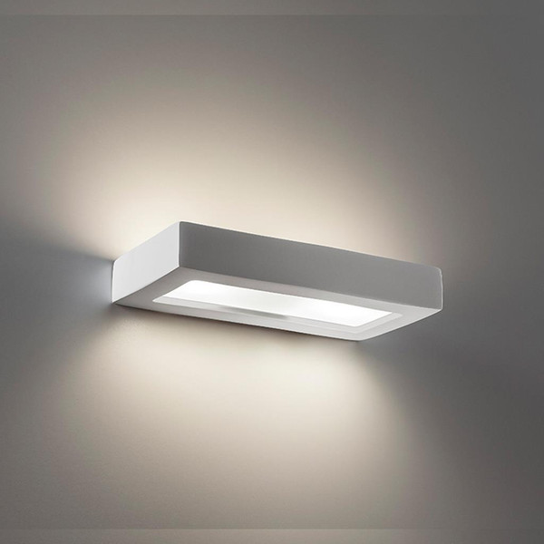 BF-8284 Ceramic Frosted Glass 30cm Wall Light - Raw / G9
