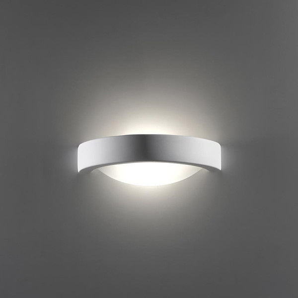 BF-8286 Ceramic Frosted Glass Wall Light - Raw / E27