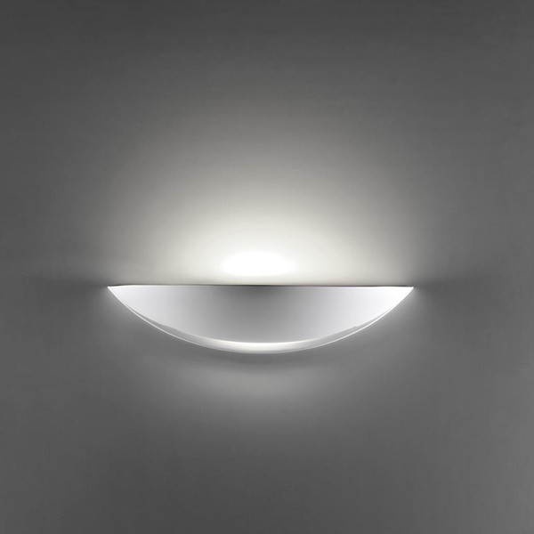 BF-8411 Ceramic Frosted Glass Wall Light - Raw / E27