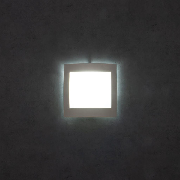 BF-8839 Ceramic Frosted Glass Wall Light - Raw / E27
